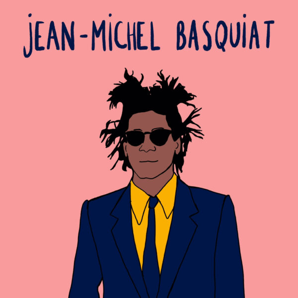 Jean-Michel Basquiat - in de Wonderkamer - Vicky Bogaert