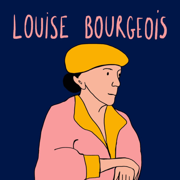 Louise Bourgeois - de Wonderacademie - Vicky Bogaert