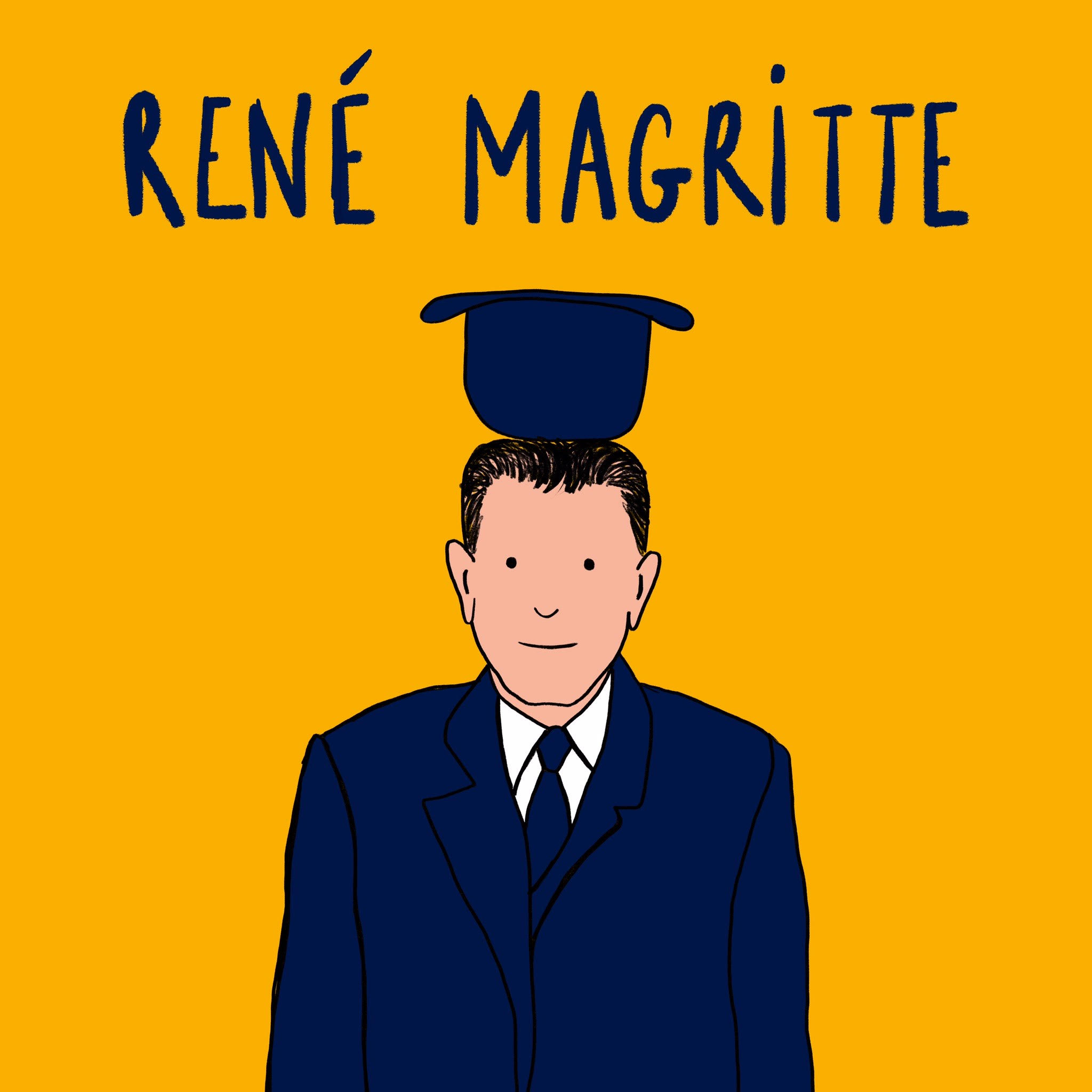 René Magritte - De Wonderacademie - in de Wonderkamer - Vicky Bogaert