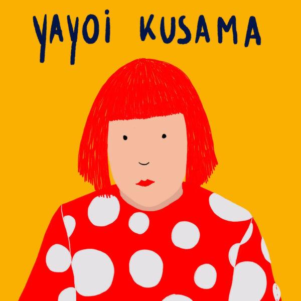 Yayoi Kusama - in de Wonderkamer - De Wonderacademie - Vicky Bogaert